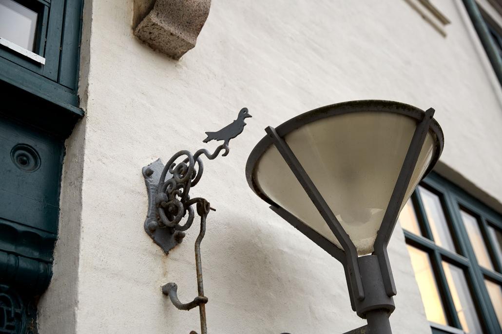 dørlampe hos aage & povl holm i lyngby