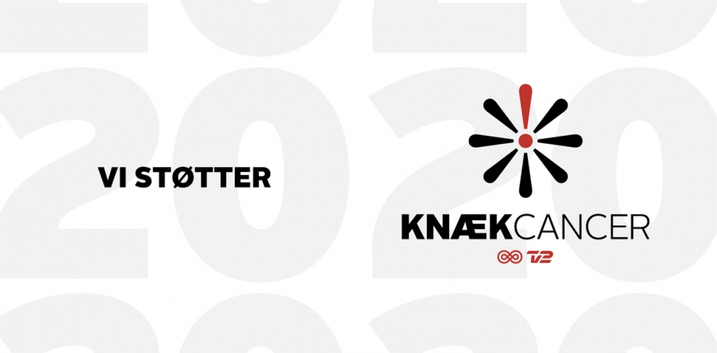 vi støtter knæ cancer